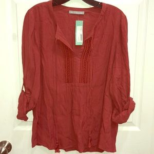 Daniel Rainn Blouse Large Stitch Fix